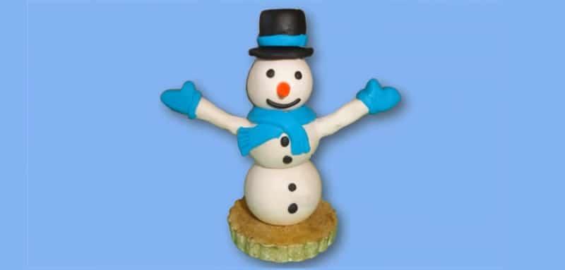 Bonhomme de neige en p te modeler - Ou trouver de la mousse pour faire des coussins ...