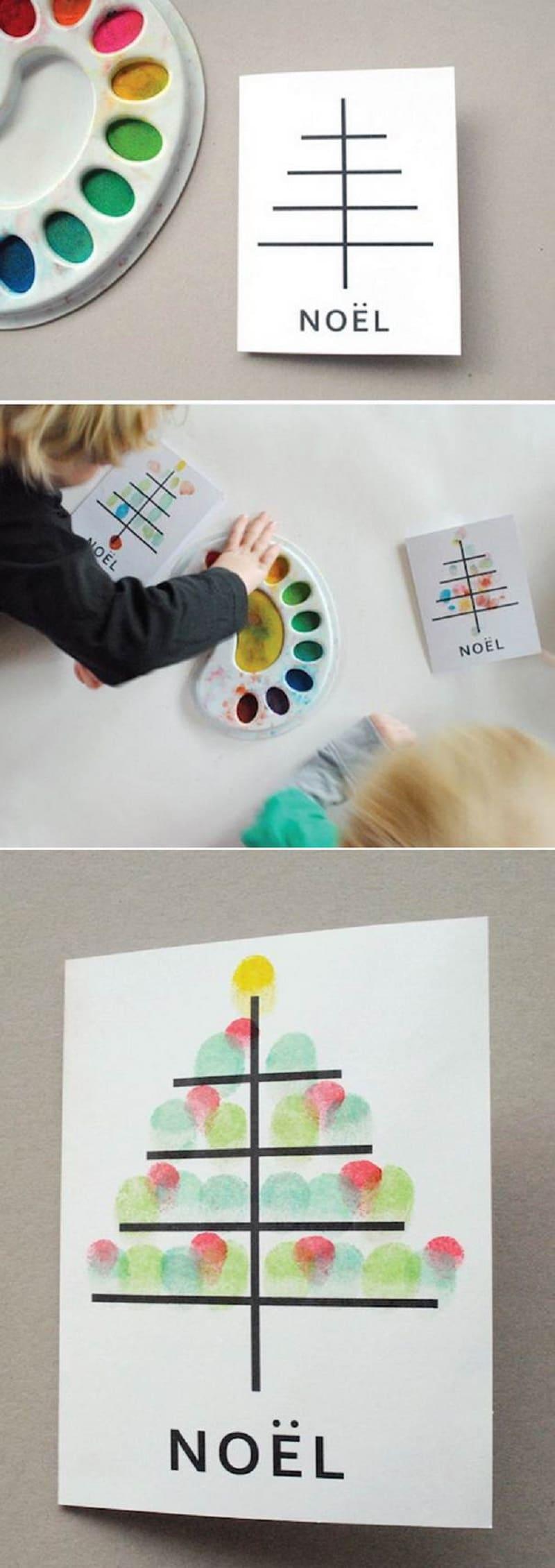 carte voeux enfant