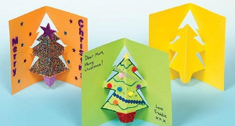 Carte De Voeux Maison 15 Idées Faciles Pour Les Enfants