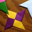 Origami étoile de ninja
