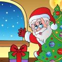 Jeu du Père Noël à imprimer