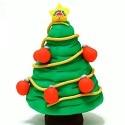 Sapin de Noël en pâte à modeler