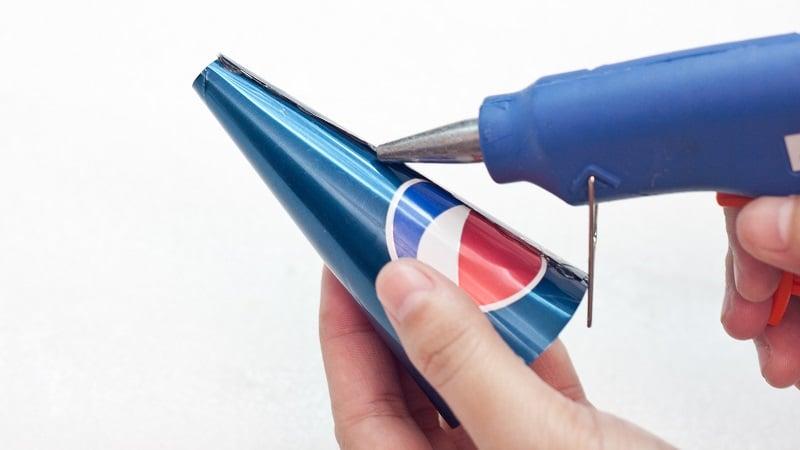 décortation noel canette soda