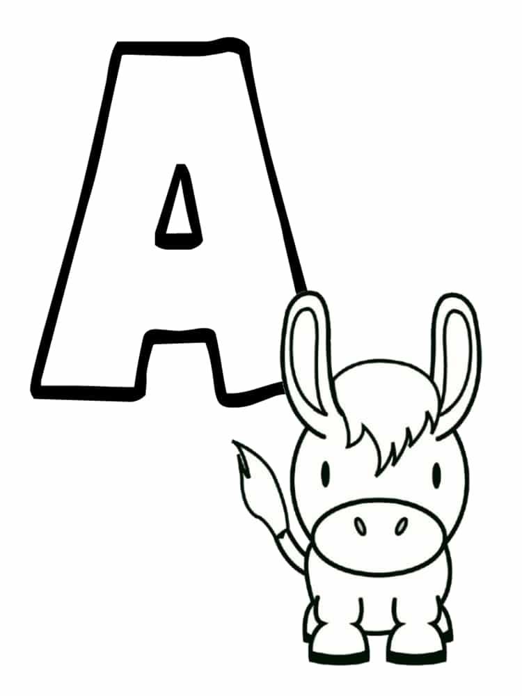 Ab c daire animaux imprimer gratuitement - Coloriage d alphabet ...