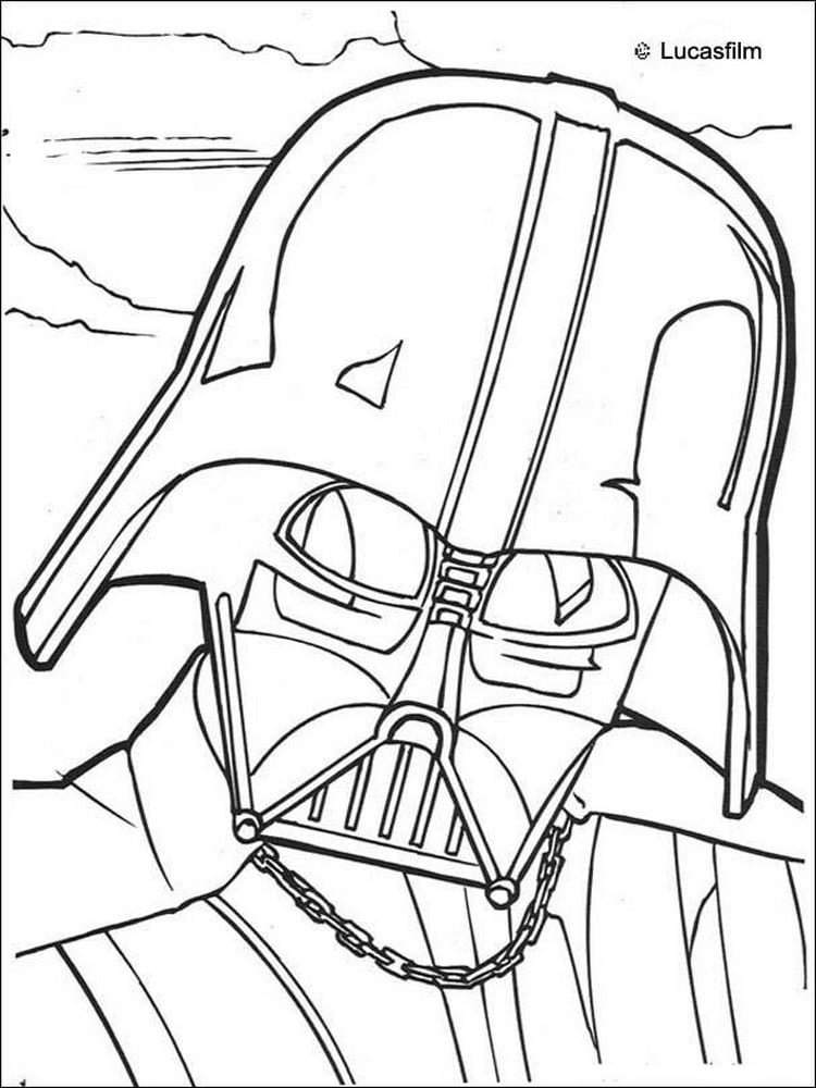 Coloriage Star Wars 40 Dessins à Imprimer