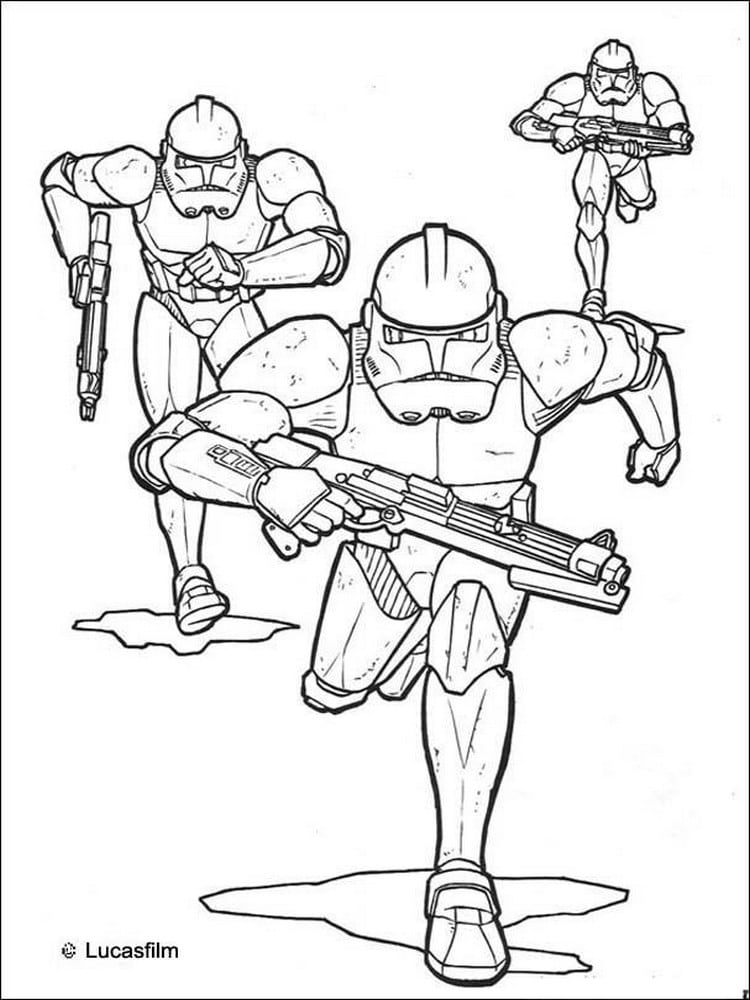 Coloriage star wars 40 dessins imprimer - Coloriage prin ...
