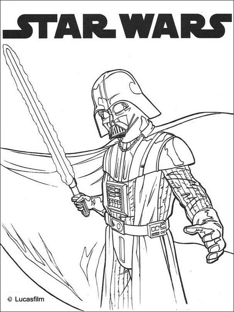 Coloriage star wars 40 dessins imprimer - Star wars gratuit ...