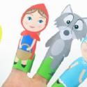 Marionnette à doigt à imprimer : 10 modèles !