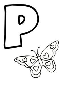 p comme papillon
