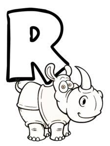 r comme rhinocéros