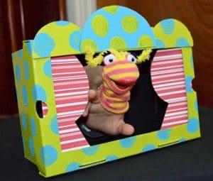 theatre marionnette à doigt