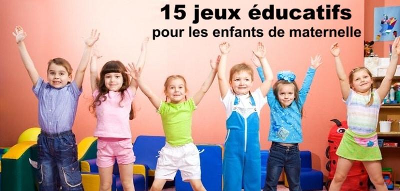 15 jeux ducatifs pour les enfants de maternelle 3 5 ans. Black Bedroom Furniture Sets. Home Design Ideas
