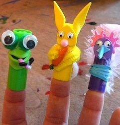 marionnette facile