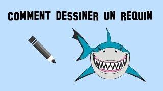 The gallery for requin dessin - Dessin requin facile ...