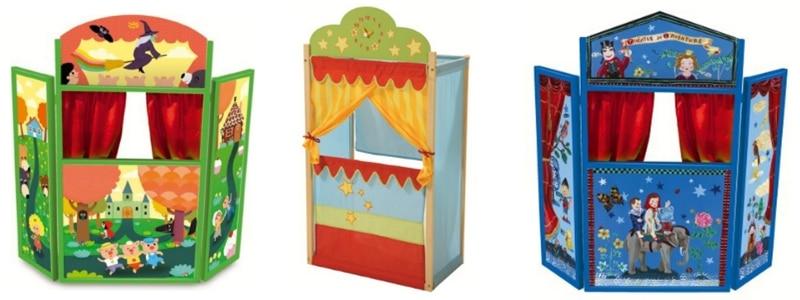 Häufig Fabriquer un théâtre de marionnettes : des idées simples ! BX62