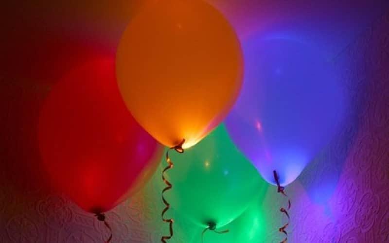 ballons lumineux