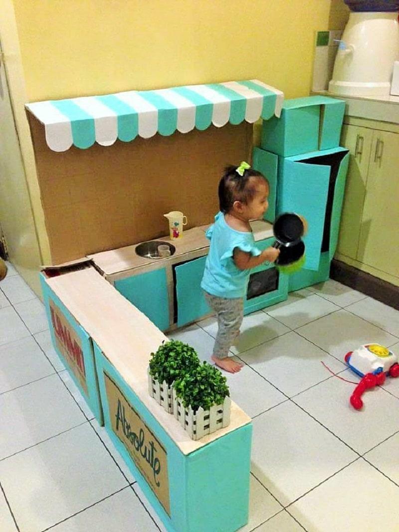 Comment Cr Er Une Mini Cuisine En Carton Pour Votre Enfant