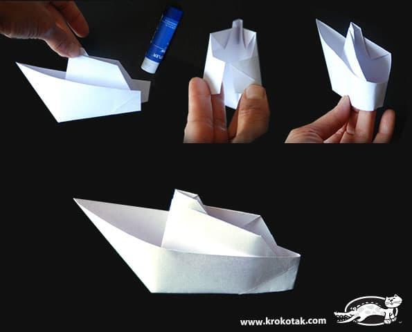Bateau En Papier Facile