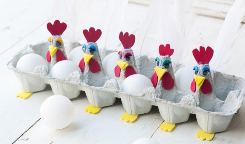 Fabuleux Bricolage de Pâques : 10 idées super cute ! XB92