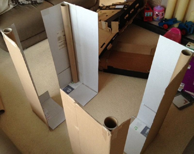 plan cabane en carton best fabriquer cabane jardin creteil bebe photo construire une cabane. Black Bedroom Furniture Sets. Home Design Ideas