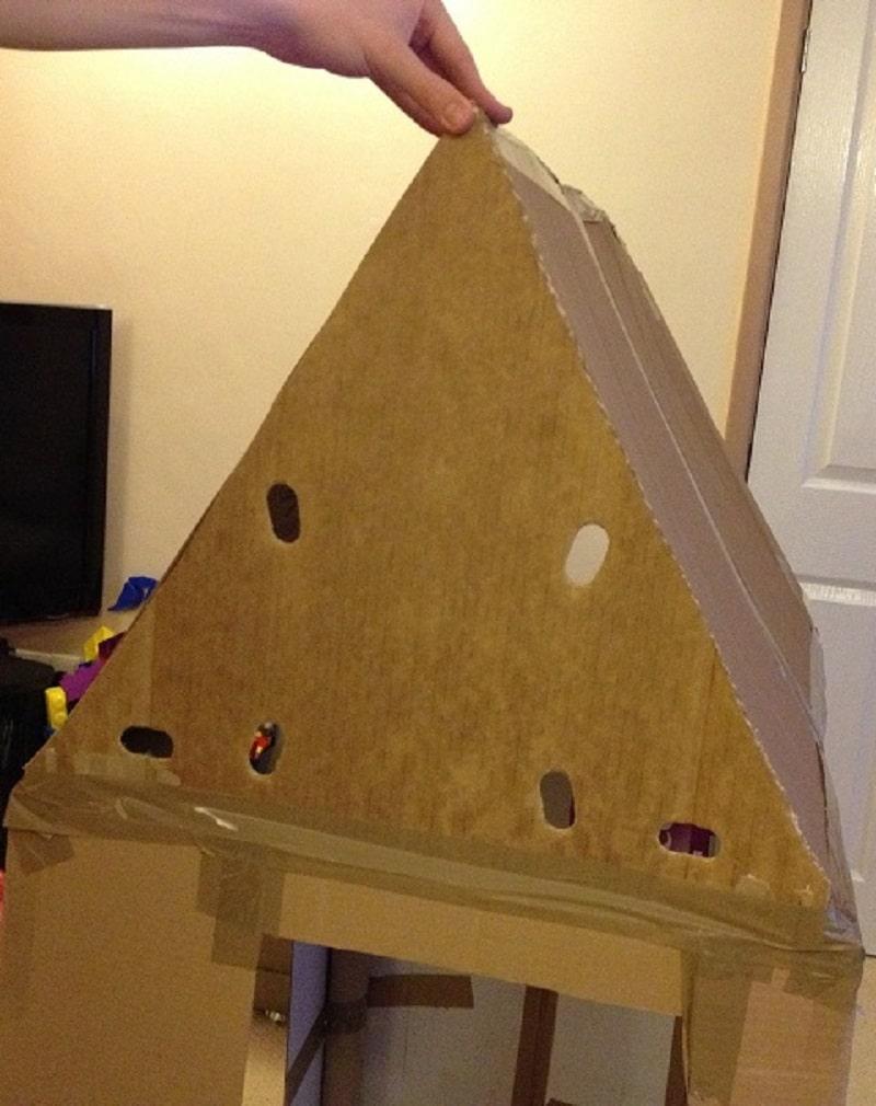 comment construire une cabane en carton   mod u00e8les