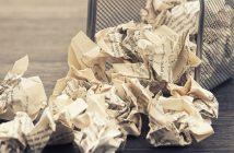 Les supers balles de papier