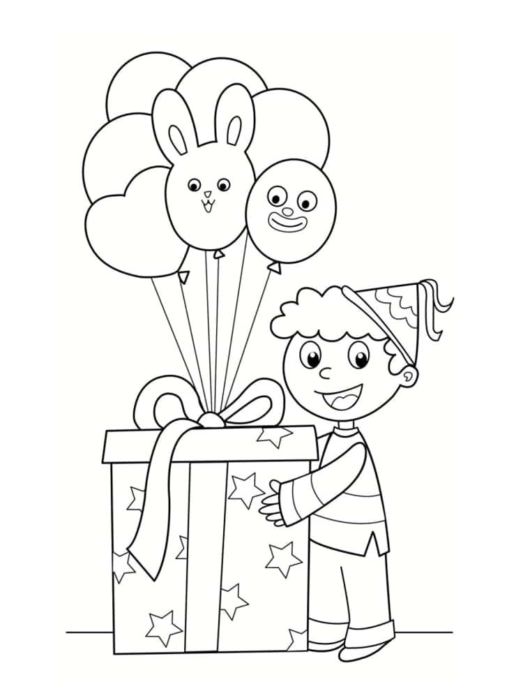 Coloriage anniversaire 20 dessins imprimer - Dessine gratuit ...