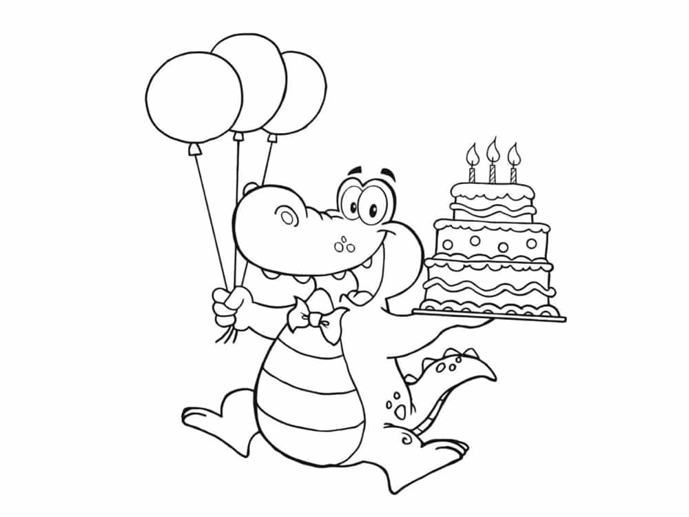 Coloriage anniversaire 20 dessins imprimer - Coloriage de joyeux anniversaire ...