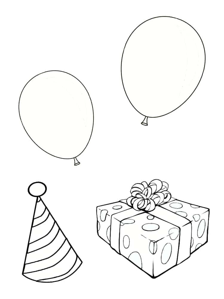 Coloriage anniversaire : 20 dessins à imprimer gratuitement