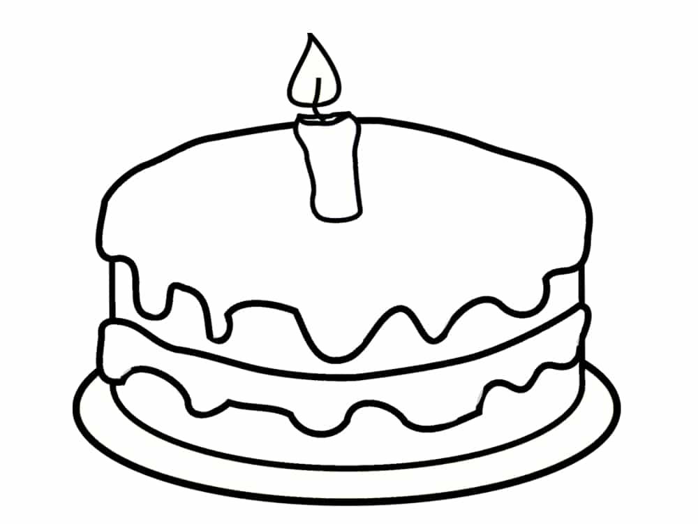 Coloriage anniversaire 20 dessins imprimer - Dessin anniversaire 7 ans ...