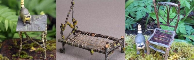 meubles fées minuscules