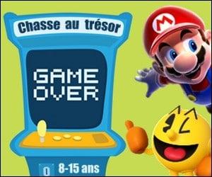 chasse au trésor jeux vidéo