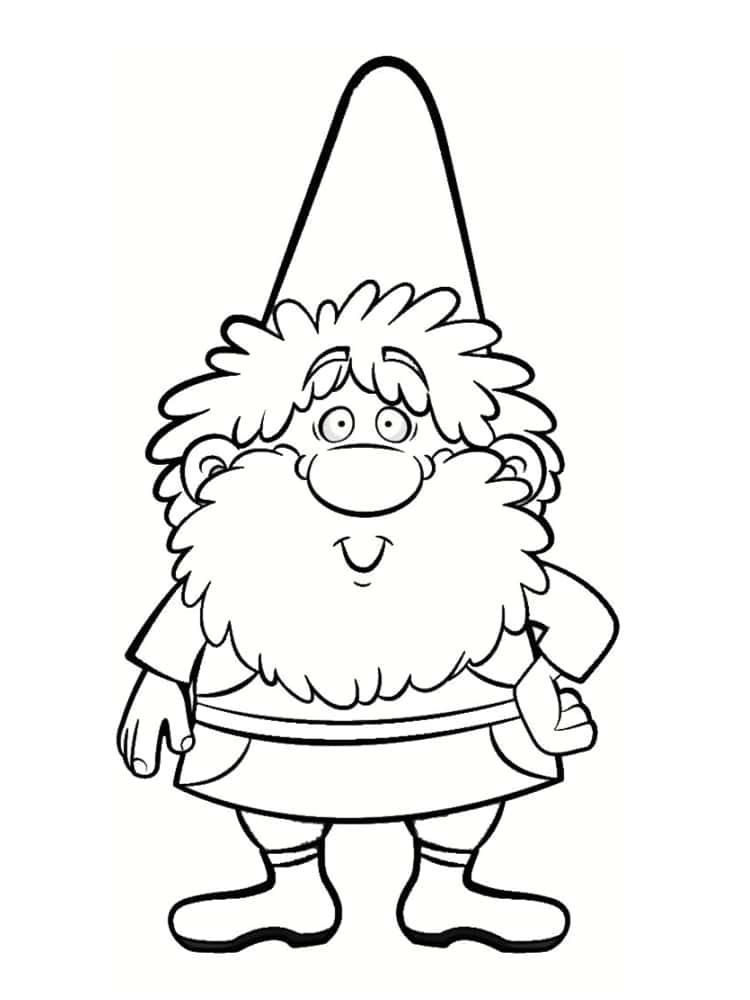 Coloriage nain et gnome dessins imprimer - Petit nain de jardin toulouse ...