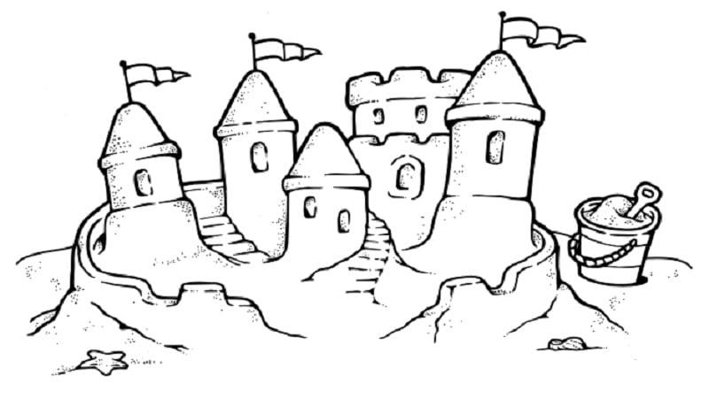 Comment construire un ch teau de sable impressionnant - Chateaux dessin ...