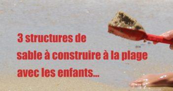 structures de sable