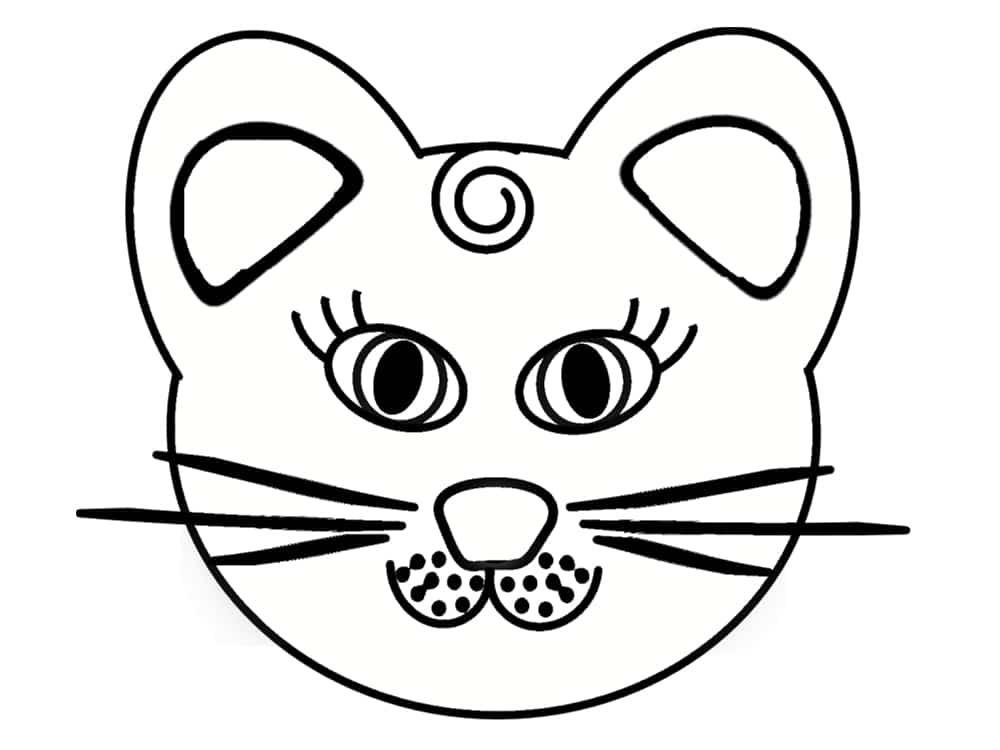 Coloriage chat 20 mod les imprimer gratuitement - Coloriage de chiot a imprimer ...