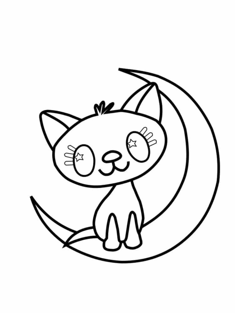 Favori Coloriage chat : 20 modèles à imprimer gratuitement OO81