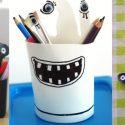 Idées de porte-crayons façon «monstre»