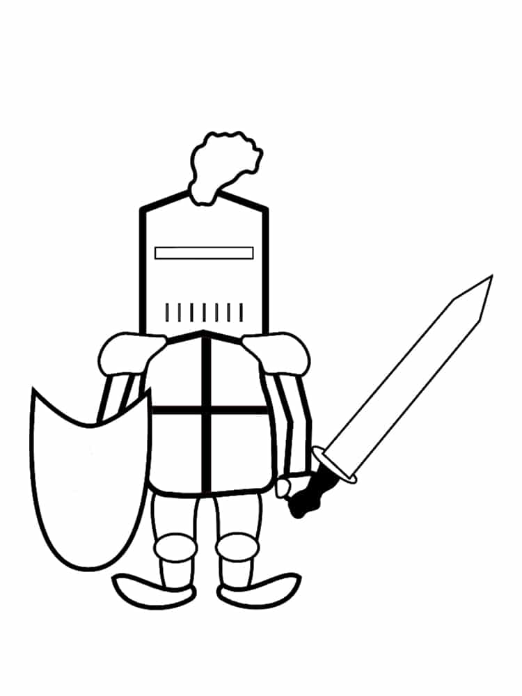 Coloriage Lego Coloriage Chevaliers Lego 5 Coloriage Chevaliers