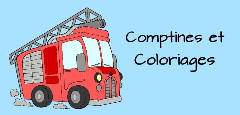 coloriage comptine