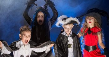 concours de costumes de halloween