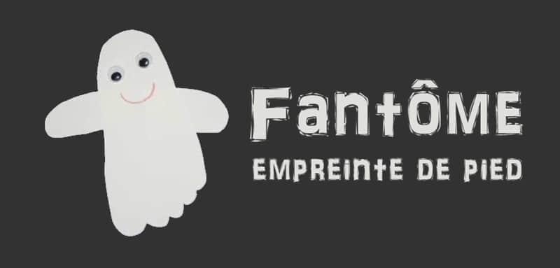 Fantôme empreinte de pied