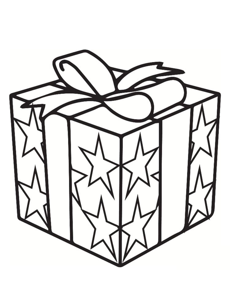 Coloriage cadeau 30 mod les imprimer gratuitement - Dessin de cadeau ...