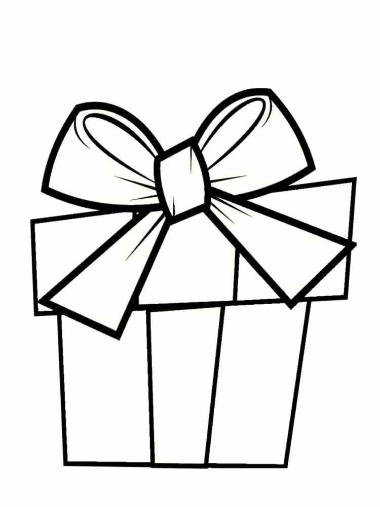 coloriage cadeau   30 mod u00e8les  u00e0 imprimer gratuitement