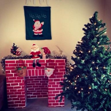 Fabriquer une chemin e en carton - Acheter une cheminee en carton ...