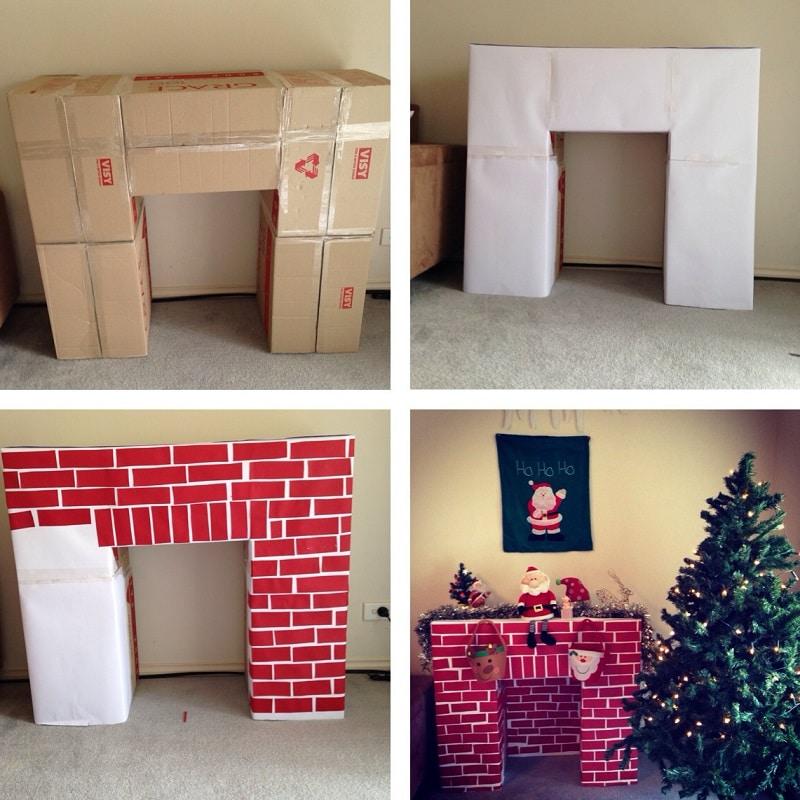 Fabulous Fabriquer une cheminée en carton UU06