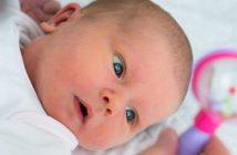 jeu avec bébé hochet