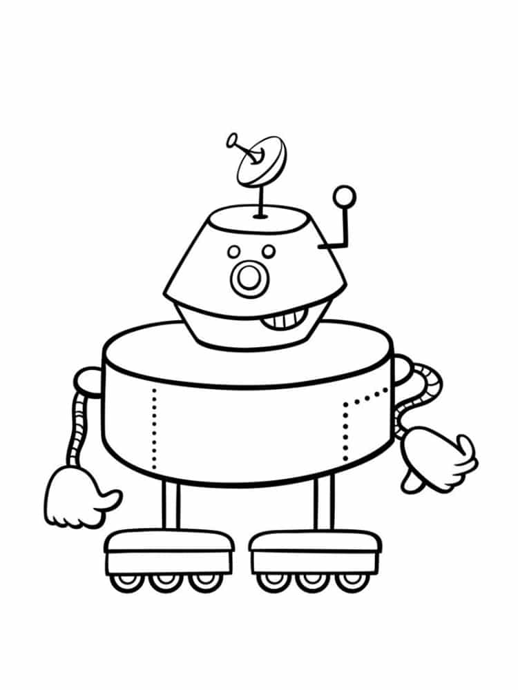 coloriage robot 30 dessins
