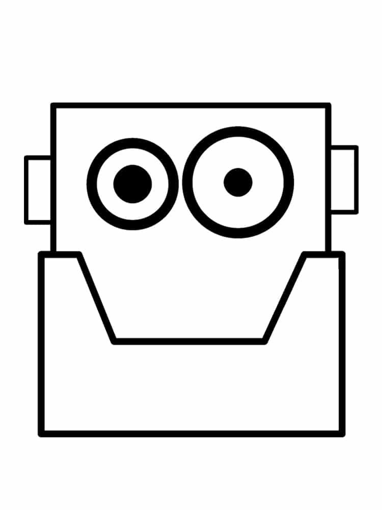 Coloriage Robot 30 Dessins A Imprimer Gratuitement