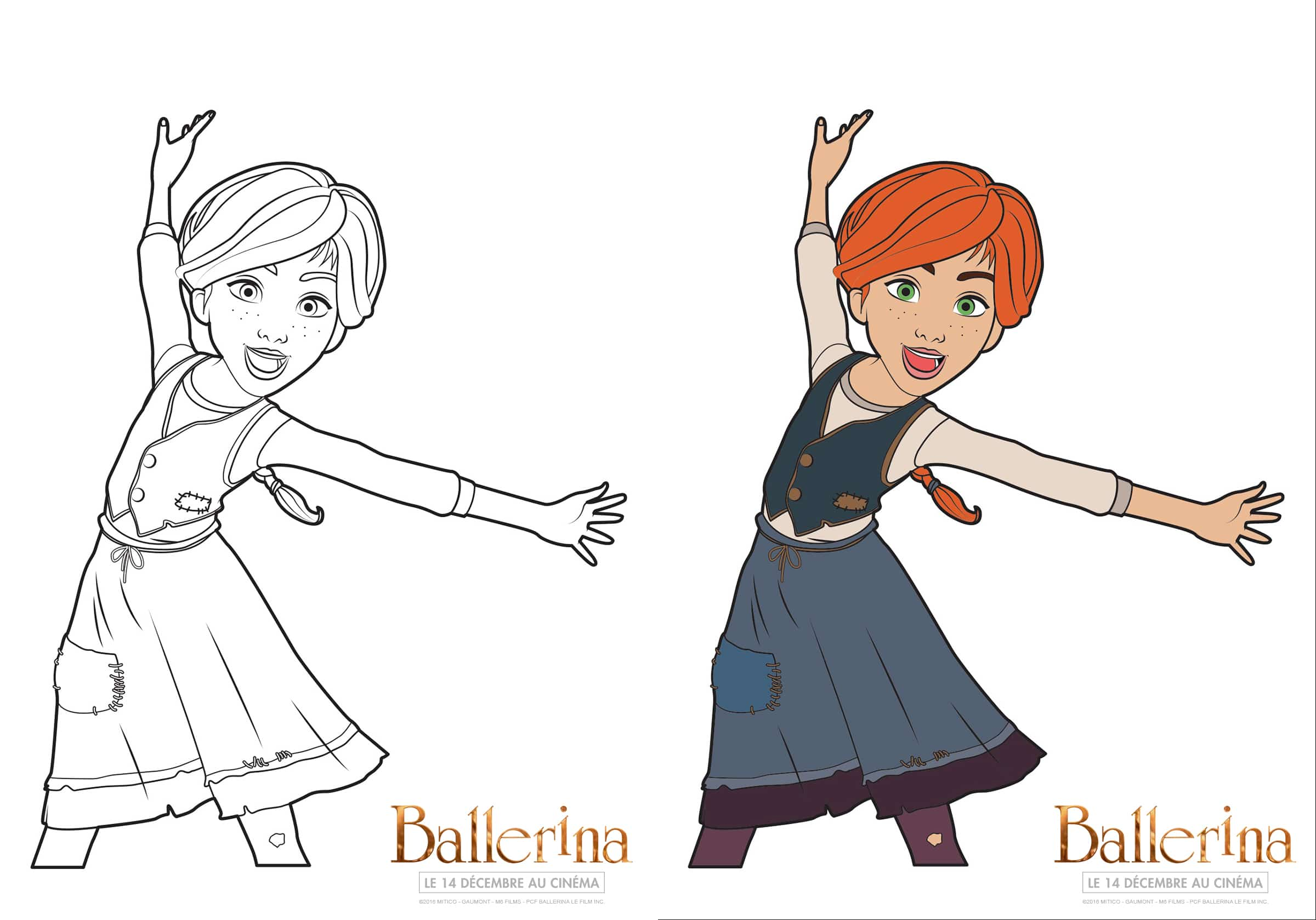 Coloriage Dessin Anime Ballerina.Luxe Coloriage Ballerina A Imprimer Imprimer Et Obtenir Une